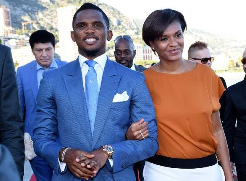 An icon in Cameroon, Eto'o involved himself in the betterment of the community through football Two