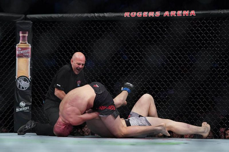 Misha Cirkunov delivered an incredible submission win against Jimmy Crute