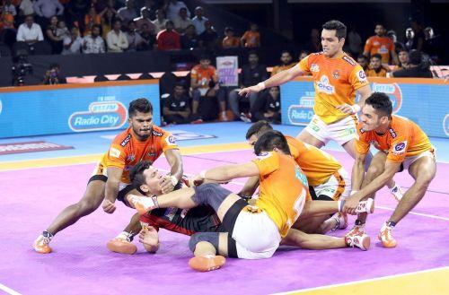 Puneri Paltan ended their home leg on a high against the Bengaluru Bulls