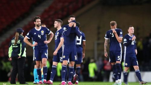 Scotland were one of ten teams to lose on both matchdays 5 and 6