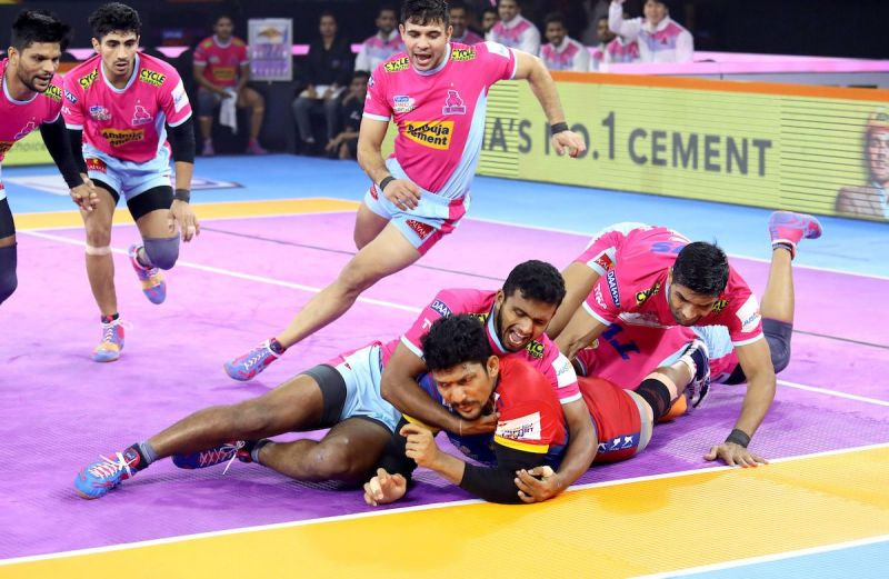 The Pink Panthers clinched a thrilling win