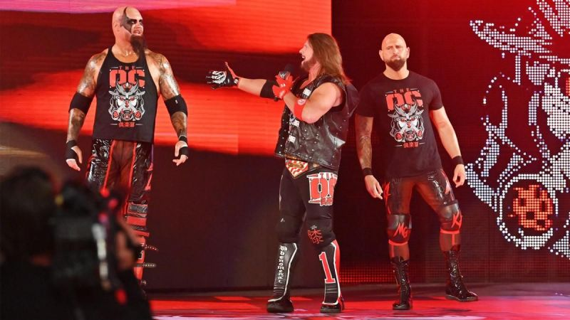 The O.C. is the main heel faction on Raw
