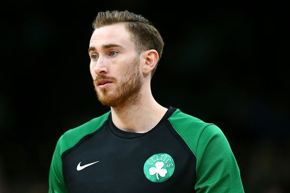 Gordon Hayward is hoping to find his form with the Boston Celtics