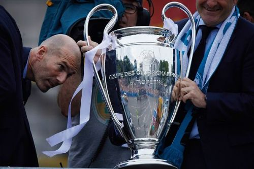 Zinedine Zidane-managed Real Madrid are placed in Group A.