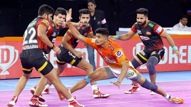 Pankaj Mohite starred for the home side, Puneri Paltan
