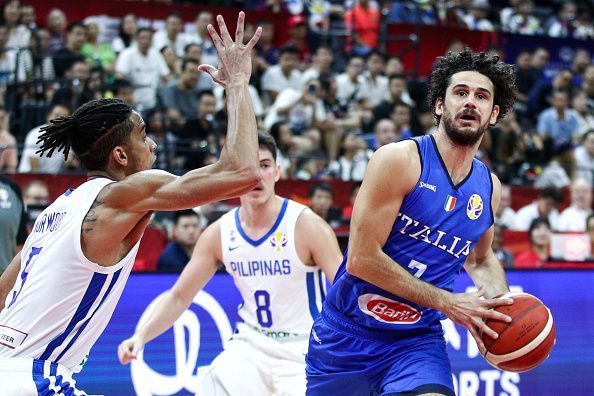 The Philippines were outclassed by a superior Italian team