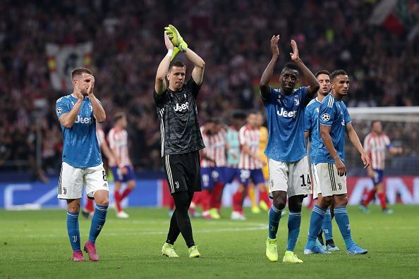 Juventus had to settle for a draw against Atletico