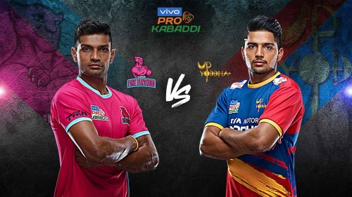 UP Yoddha look to make it 2-0 against Jaipur Pink Panthers this season.