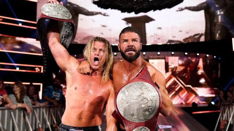Dolph Ziggler and Robert Roode win tag team gold