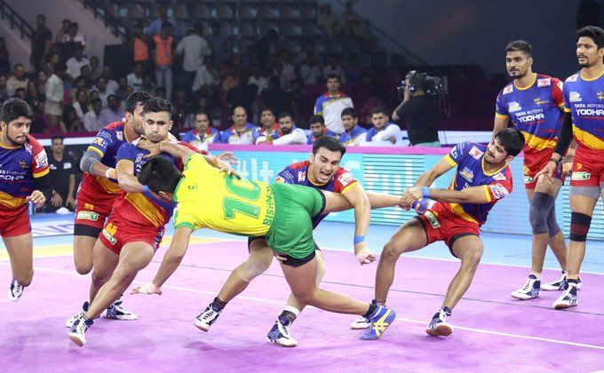 UP Yoddha won the one-sided battle against the Tamil Thalaivas with a 42-22 scoreline