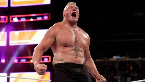 Lesnar is always in the main-evemt scene.