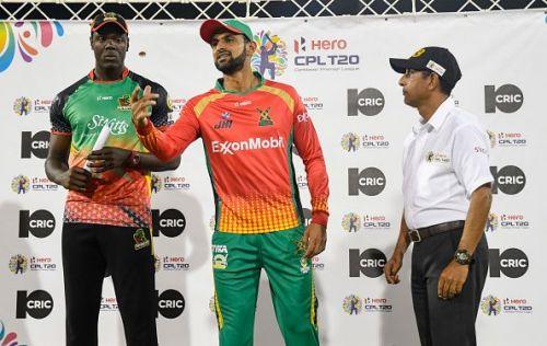 Guyana Amazon Warriors v St Kitts and Nevis Patriots - 2019 Hero Caribbean Premier League (CPL)