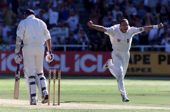 Allan Donald in action