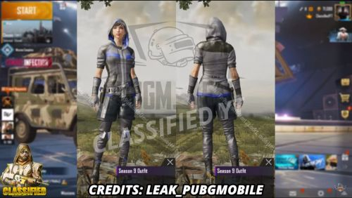 The new Season 9 Outfit