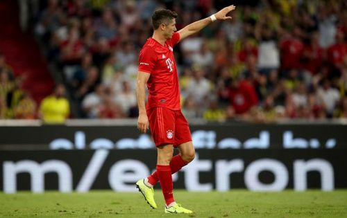 Lewandowski has started the season on fire