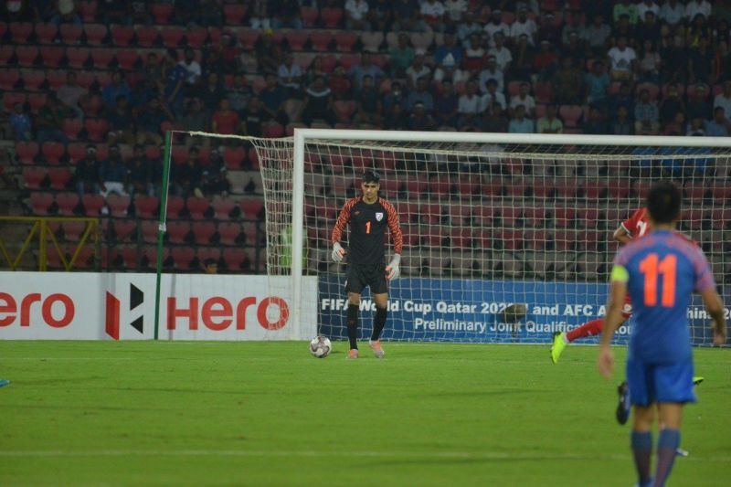 Gurpreet Singh Sandhu is one of the few players in the team to cement his place in the starting line-up