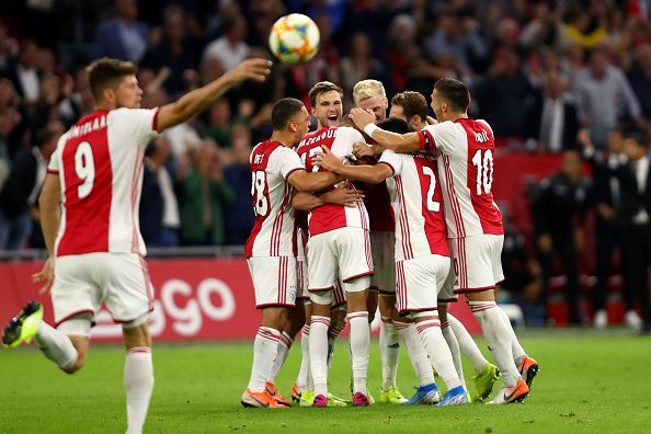Ajax would hope to repeat their last season heroics