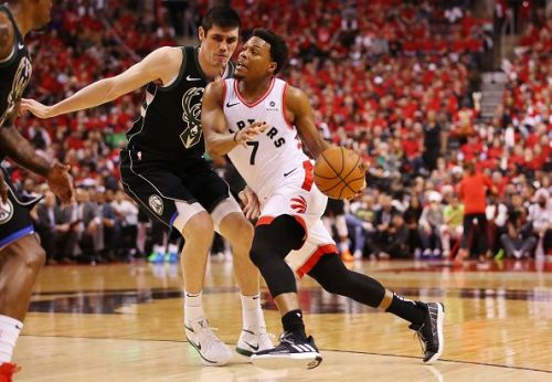 Kyle Lowry's future with the Raptors has been called into question