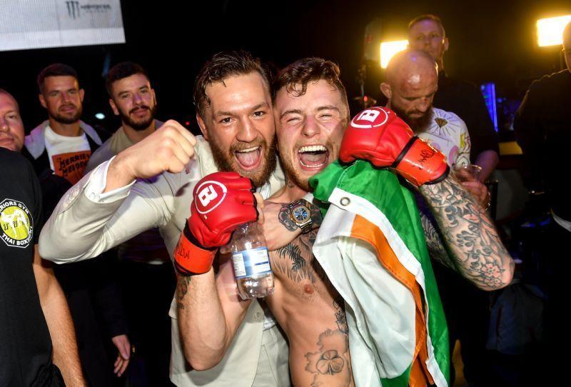Conor McGregor at Bellator Dublin
