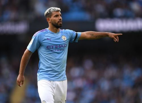 Sergio Aguero would be seeking to help Manchester City to a first-ever Champions League crown