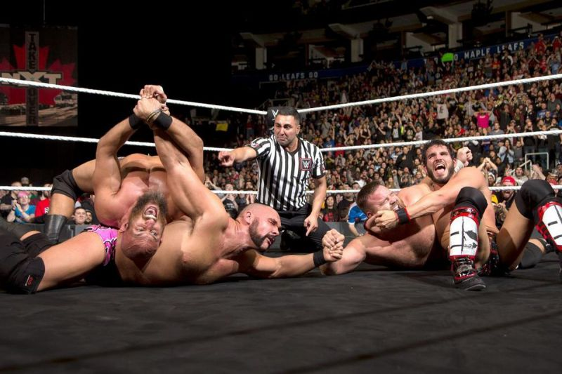 This match was one of the best tag team matches in NXT