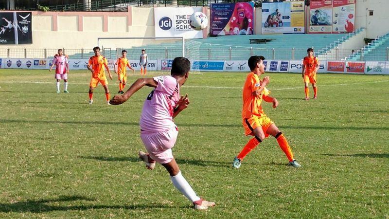 Bangladesh Krira Shiksha Protishthan (BKSP) playing against Esteqlal School, Afghanistan