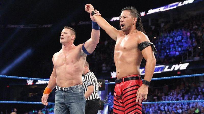 Cena and Nakamura