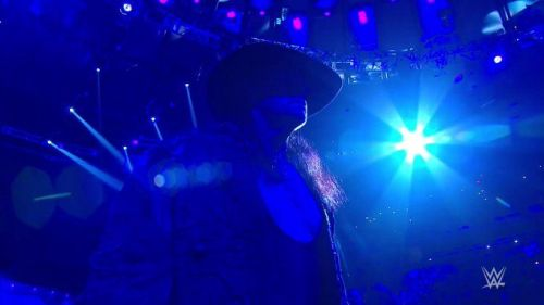 The Undertaker is here