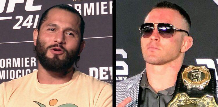 Jorge Masvidal (left) has mocked Covington