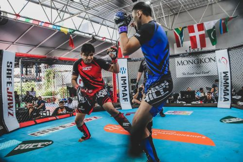 Vaibhav Shetty is trying to make it big in the world of MMA!