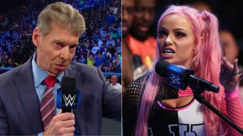 Vince McMahon replaced the Liv Morgan vs. Ember Moon match