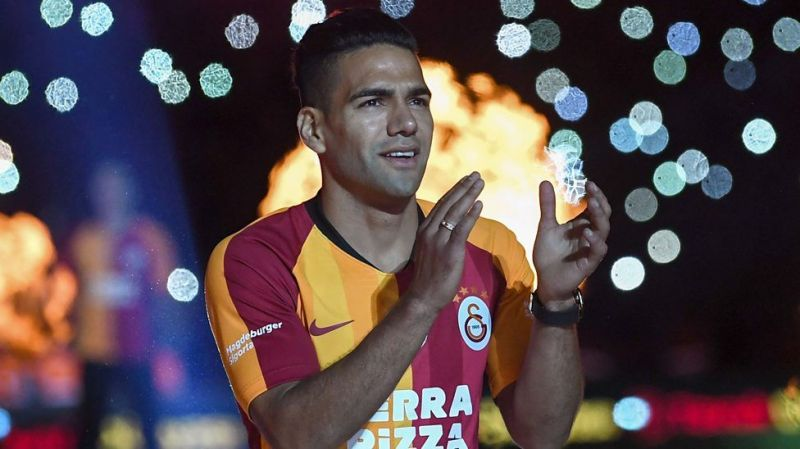 Falcao was one of the 14 new arrivals at Galatasaray this summer