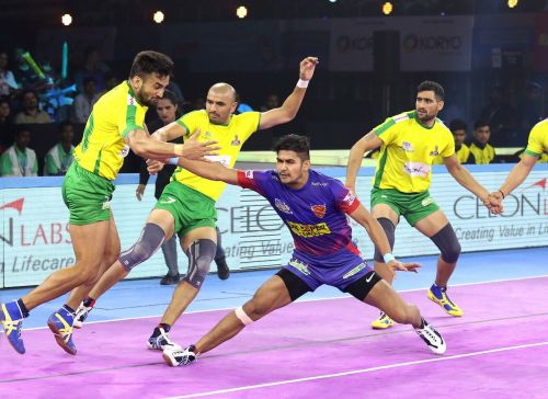 Naveen Kumar was yet again instrumental in his team's win with a Super 10