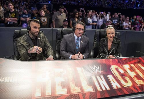The Raw announce team