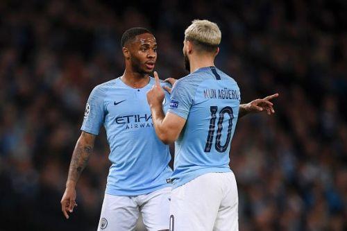 Manchester City superstars - Raheem Sterling and Sergio Aguero