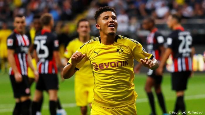 Sancho gave Dortmund the lead in the second half