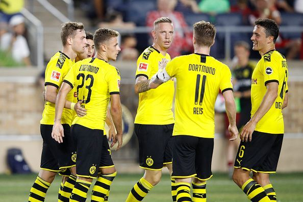 Borussia Dortmund v Liverpool - Pre-Season Friendly