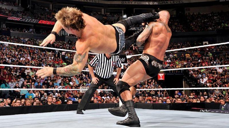 क्रिस जैरिको vs रैंडी ऑर्टन