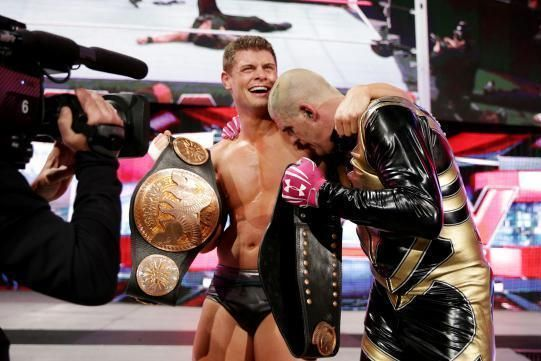 Cody Rhodes Goldust fought each other after falling out in 2015