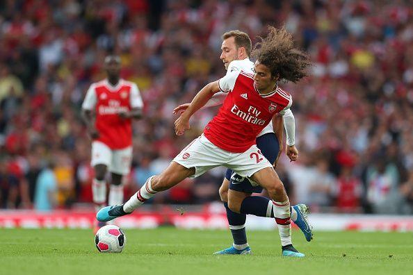 Matteo Guendouzi was instrumental in Arsenal