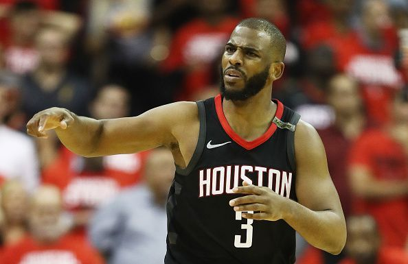 Chris Paul has spent the past two seasons with the Houston Rockets