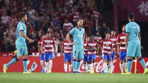 Barcelona's surprise 2-0 away defeat by Granada confines them to their worst top-flight start for 25 years