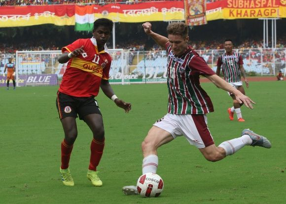 The first Kolkata Derby of 2019-20 season ended in a goalless draw between East Bengal and Mohun Bagan
