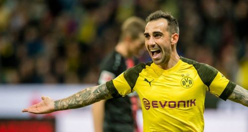 Paco Alcacer will be aiming to find the back of the net against his former side