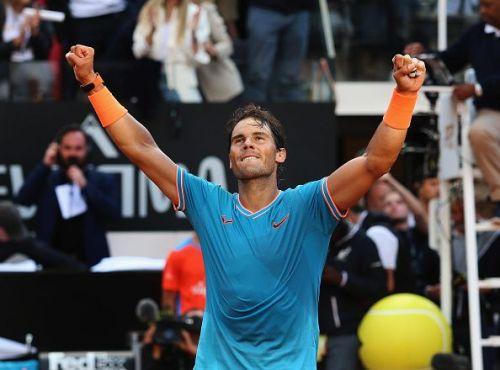 International BNL d'Italia - Rafael Nadal after his win at Rome