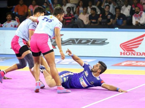 Haryana Steelers tie with Jaipur Pink Panthers in a fervid encounter