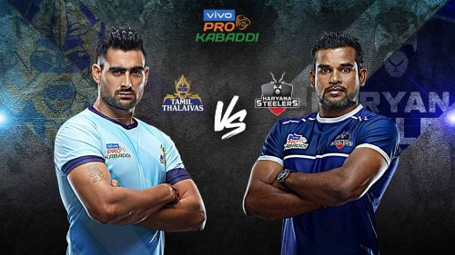 Haryana Steelers have never beaten Tamil Thalaivas till date. Can they do it tonight?