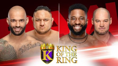 Who will take a step closer to becoming King Of The Ring?