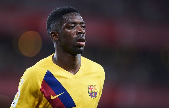 Dembele could return to the squad