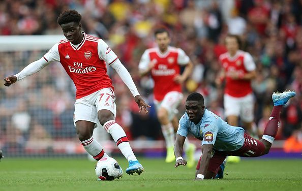 Saka has been brilliant for Arsenal